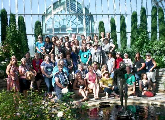 2016 Garden Blogger Fling group photo