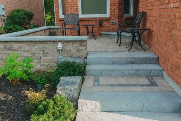 Portfolio: Front steps and porch