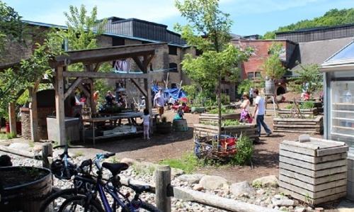 Brick Works playground