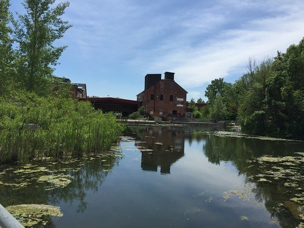 Brick Works river
