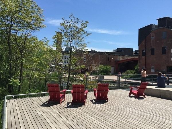 Brick Works seating