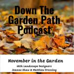 Down The Garden Path November in the Garden