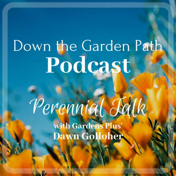Down the Garden Path podcast Perennial Talk with Gardens Plus
