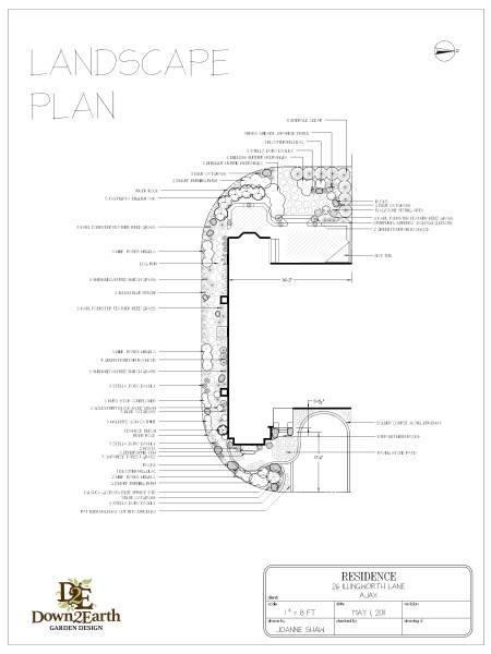 Landscape Design services sample