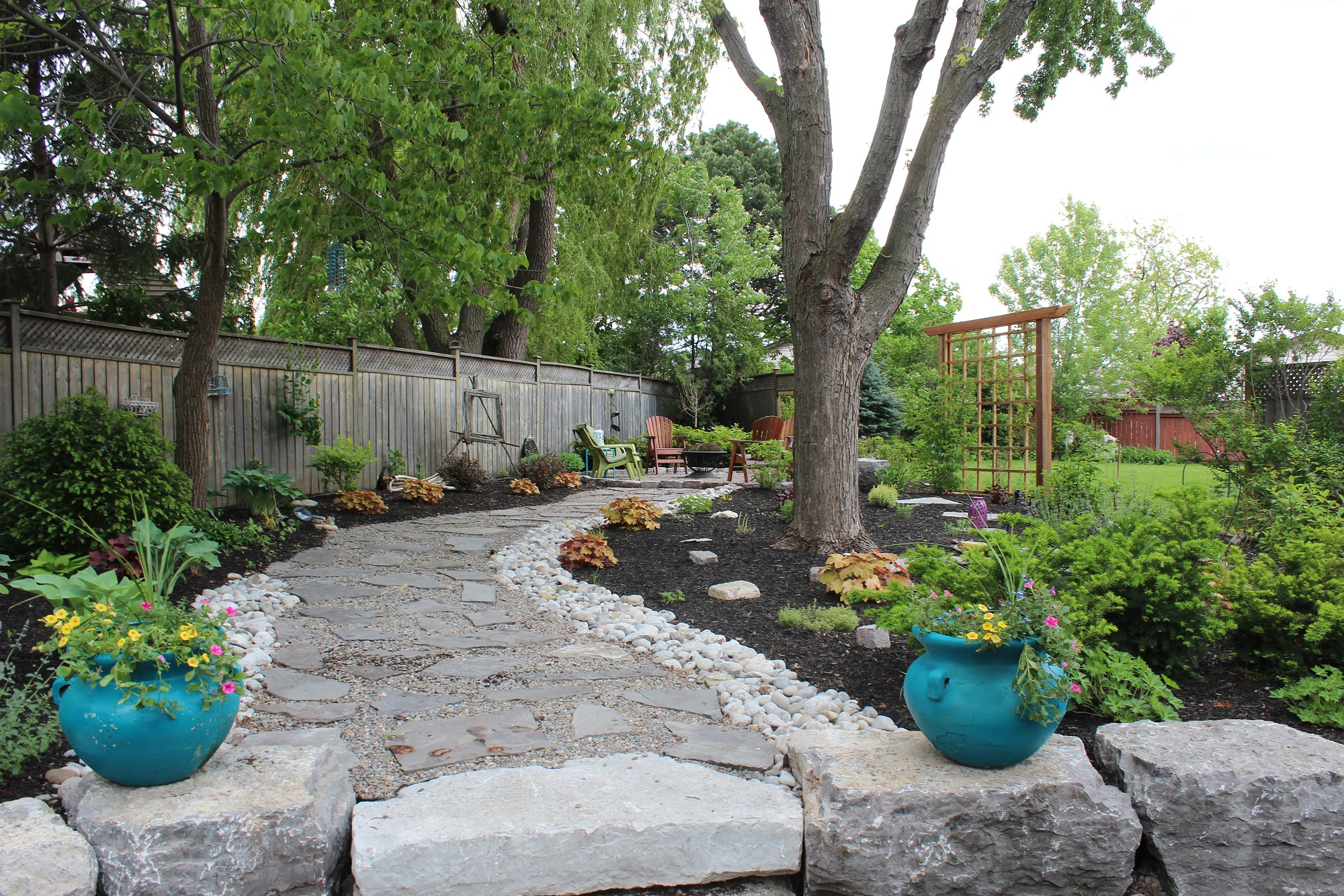 Garden and landscape design services in pickering ajax for Home depot landscape design service