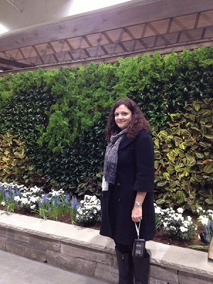 Joanne Shaw Canada Blooms 2013 Vertical Gardens