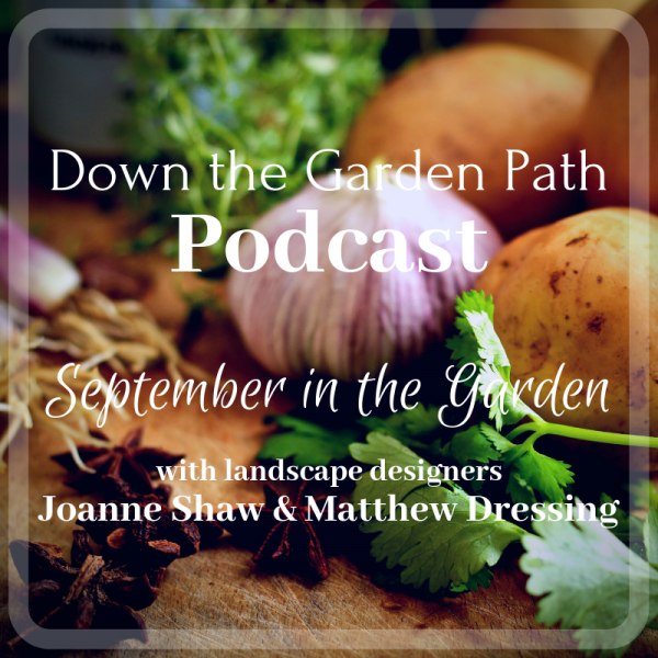 September Down the Garden Path