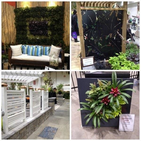 vertical themed gardens