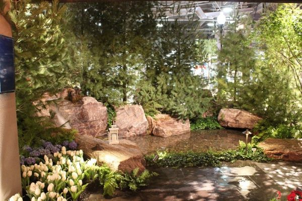Water Feature at Canada Blooms 2017