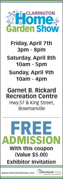 Clarington Home and Garden Show