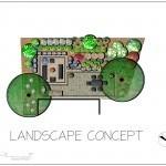 colour landscape concept