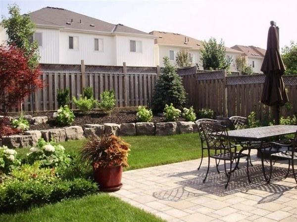 Portfolio : Backyard patio and retaining wall