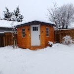 winter new shed